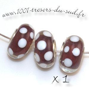 perle pandora rouge