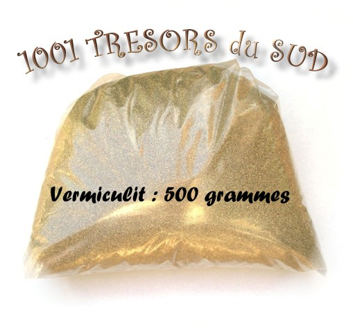 500 g VERMICULITE • extra fin • FILAGE PERLES